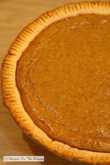 Pumpkin Pie Filling From Scratch  25 best ideas about Fresh pumpkin pie recipe on Pinterest