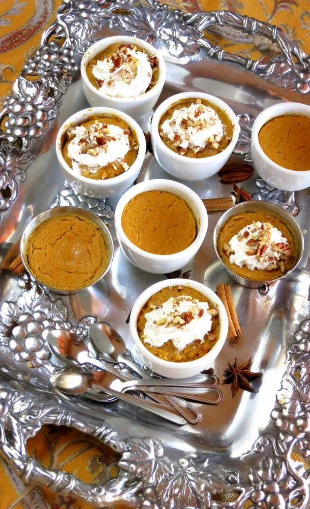 Pumpkin Pie Filling From Scratch  Pumpkin Cutie Pies OR Filling for baked pumpkin pie from