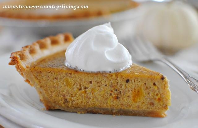 Pumpkin Pie Filling From Scratch  Pumpkin Pie Made from Scratch Town & Country Living