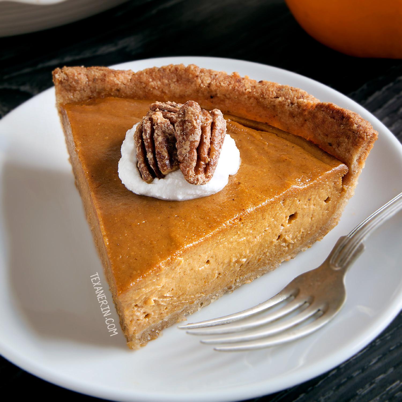 Pumpkin Pie Ingredients  Vegan Pumpkin Pie paleo grain free gluten free dairy
