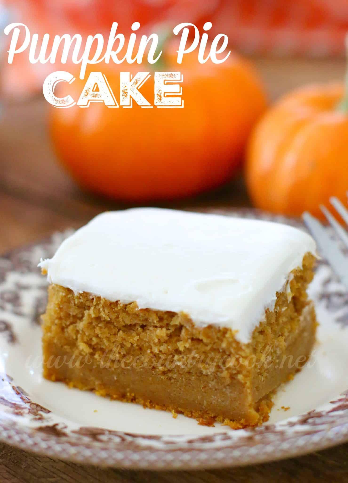 Pumpkin Pie Mix  Pumpkin Pie Cake The Country Cook