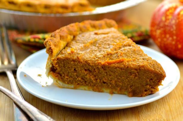Pumpkin Pie Recipe With Fresh Pumpkin  Fresh Pumpkin Pie Recipe Using Milk Food