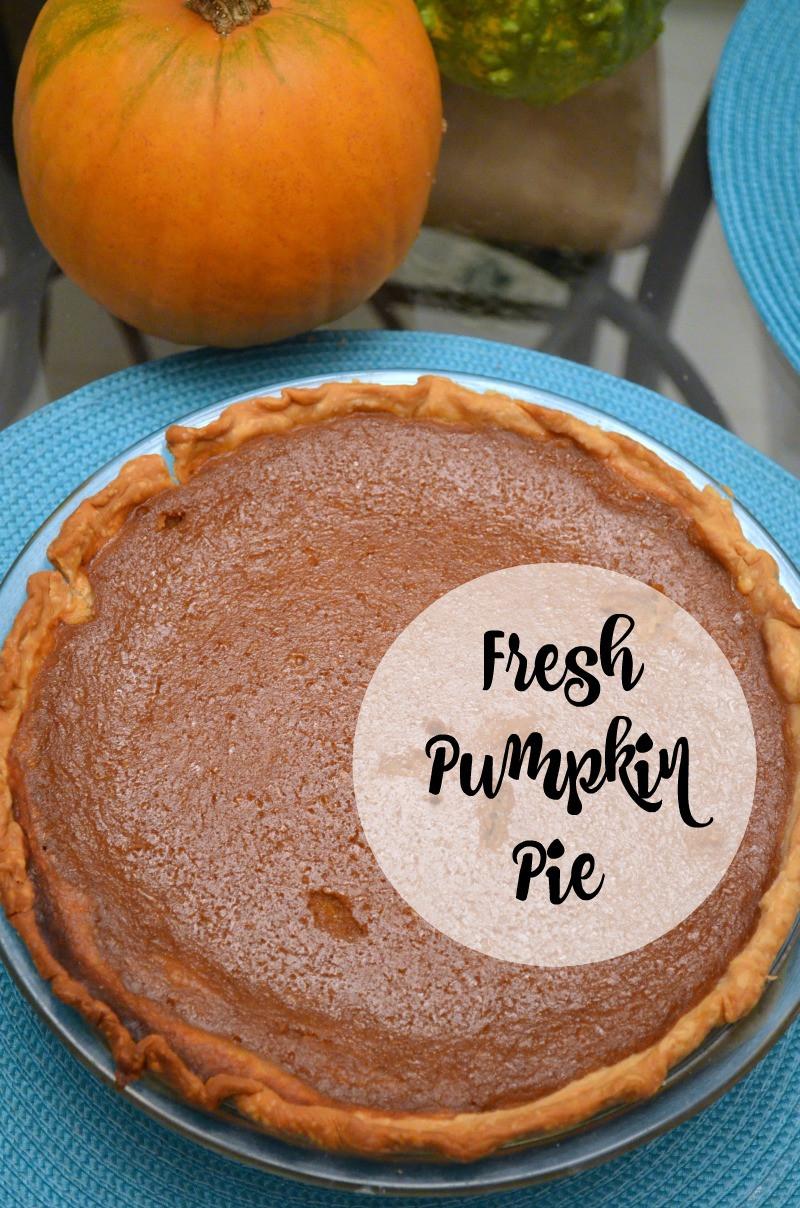 Pumpkin Pie Recipe With Fresh Pumpkin  Pumpkin Pie With Fresh Pumpkin An Artful Mom