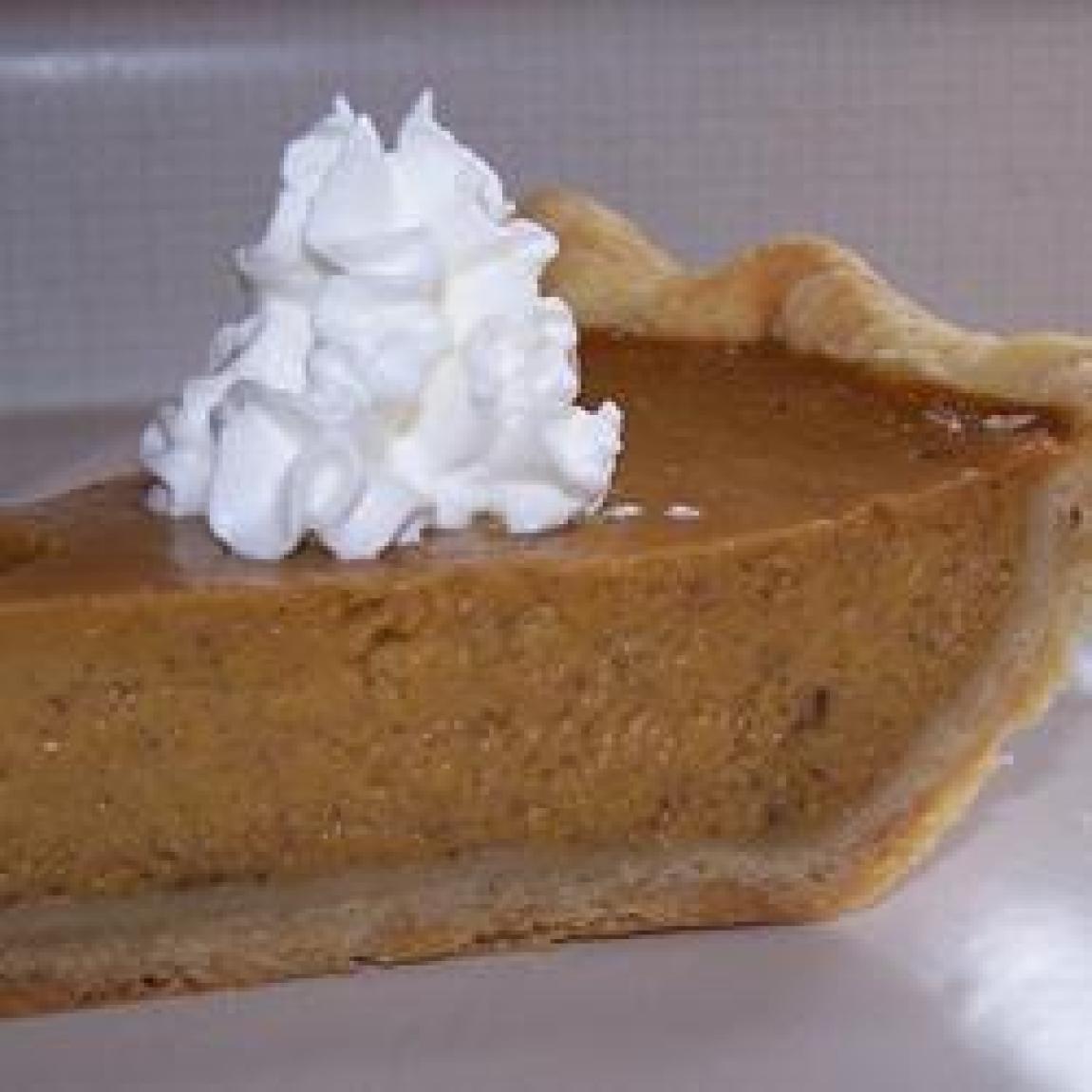 Pumpkin Pie Recipe With Fresh Pumpkin  Mrs Sigg s Fresh Pumpkin Pie Recipe
