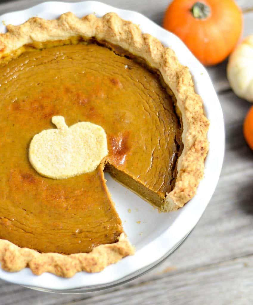 Pumpkin Pie Recipe With Milk  fresh pumpkin pie condensed milk
