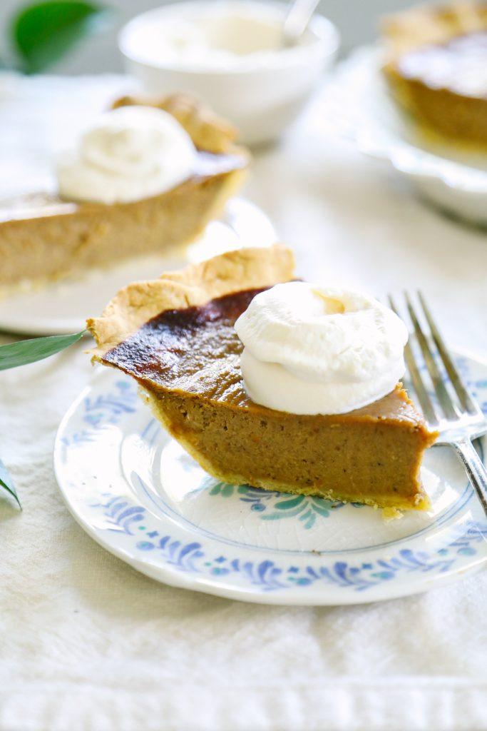 Pumpkin Pie Recipe With Milk  pumpkin pie without condensed milk