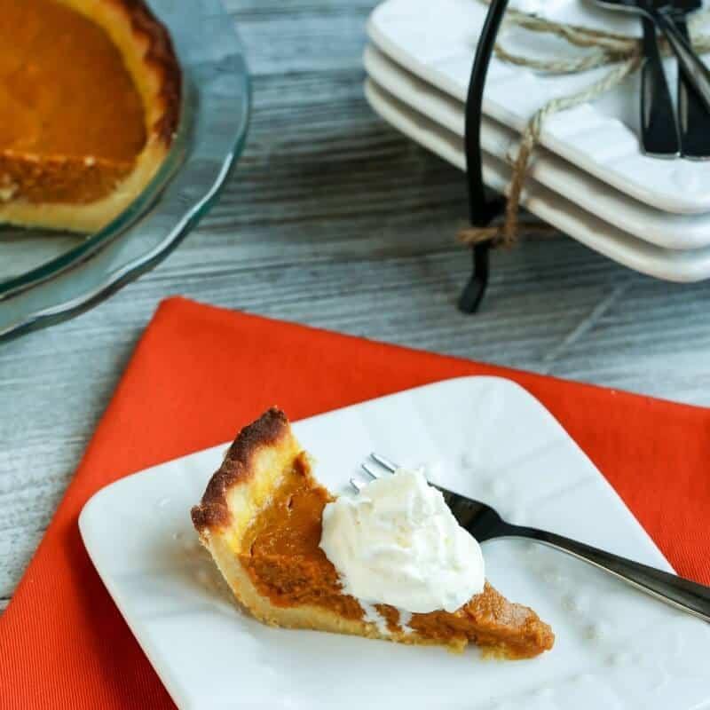 Pumpkin Pie Recipe With Milk  Almond Milk Pumpkin Pie Gluten Free