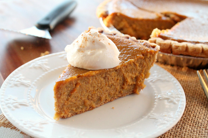 Pumpkin Pie Recipe With Real Pumpkin  Best Pumpkin Pie Real Life Dinner