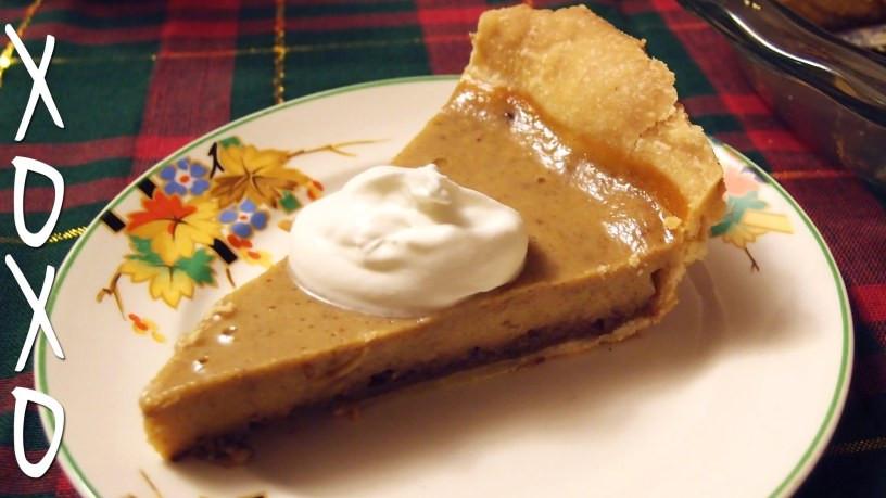 Pumpkin Pie Recipe With Real Pumpkin  Pumpkin Pie From Scratch with Real Pumpkins – Recipes2U