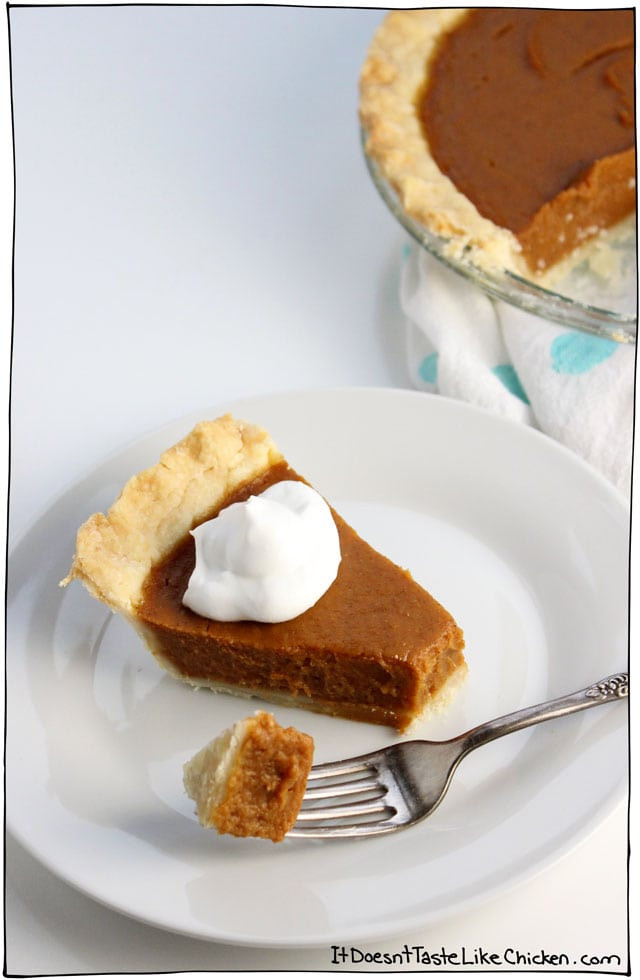 Pumpkin Pie With Coconut Milk  vegan pumpkin pie with coconut milk