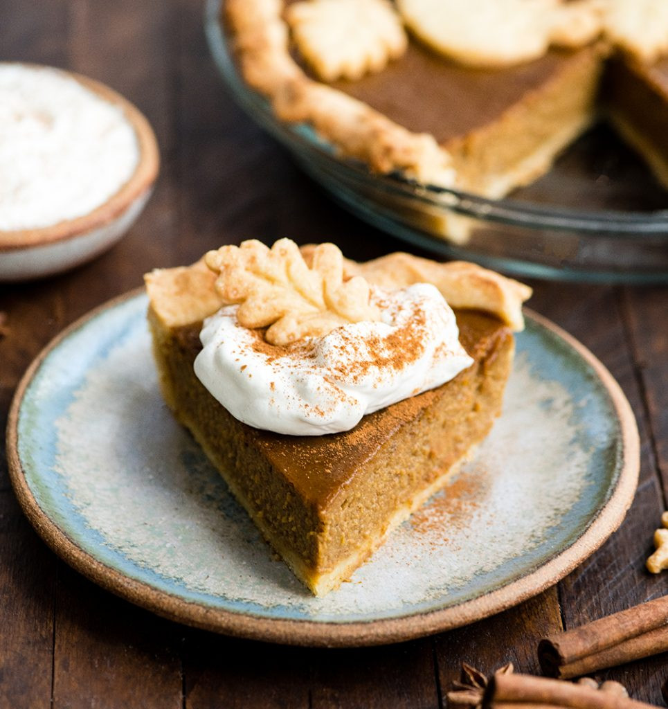 Pumpkin Pie With Coconut Milk  Pumpkin Pie Recipe With Sweetened Condensed Coconut Milk