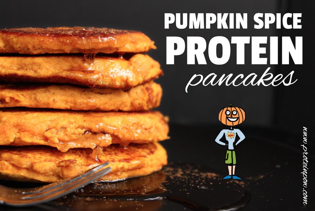 Pumpkin Protein Pancakes  Pumpkin Spice Protein Pancakes