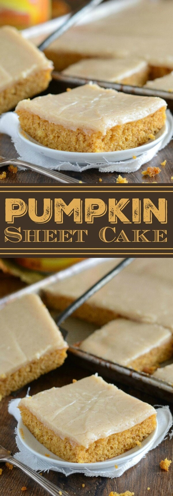 Pumpkin Sheet Cake  Pumpkin Sheet Cake