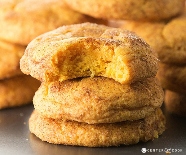 Pumpkin Snickerdoodle Cookies  Pumpkin Snickerdoodle Cookies Recipe