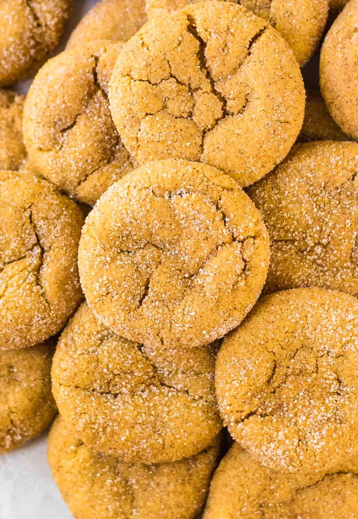 Pumpkin Snickerdoodle Cookies  Pumpkin Snickerdoodles