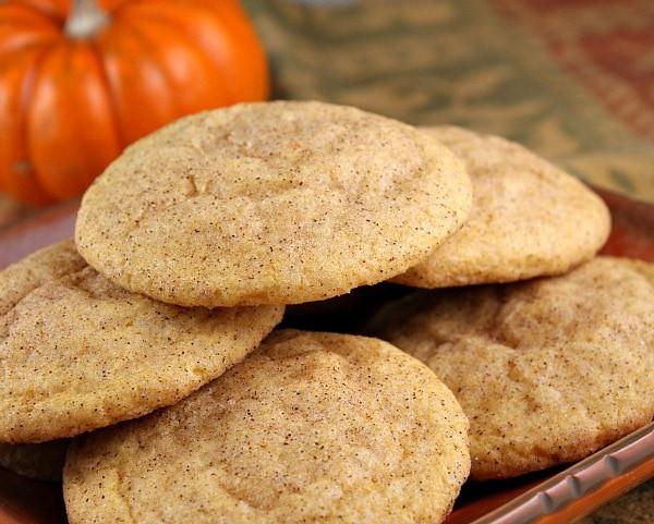 Pumpkin Snickerdoodle Cookies  Pumpkin Snickerdoodles Recipe