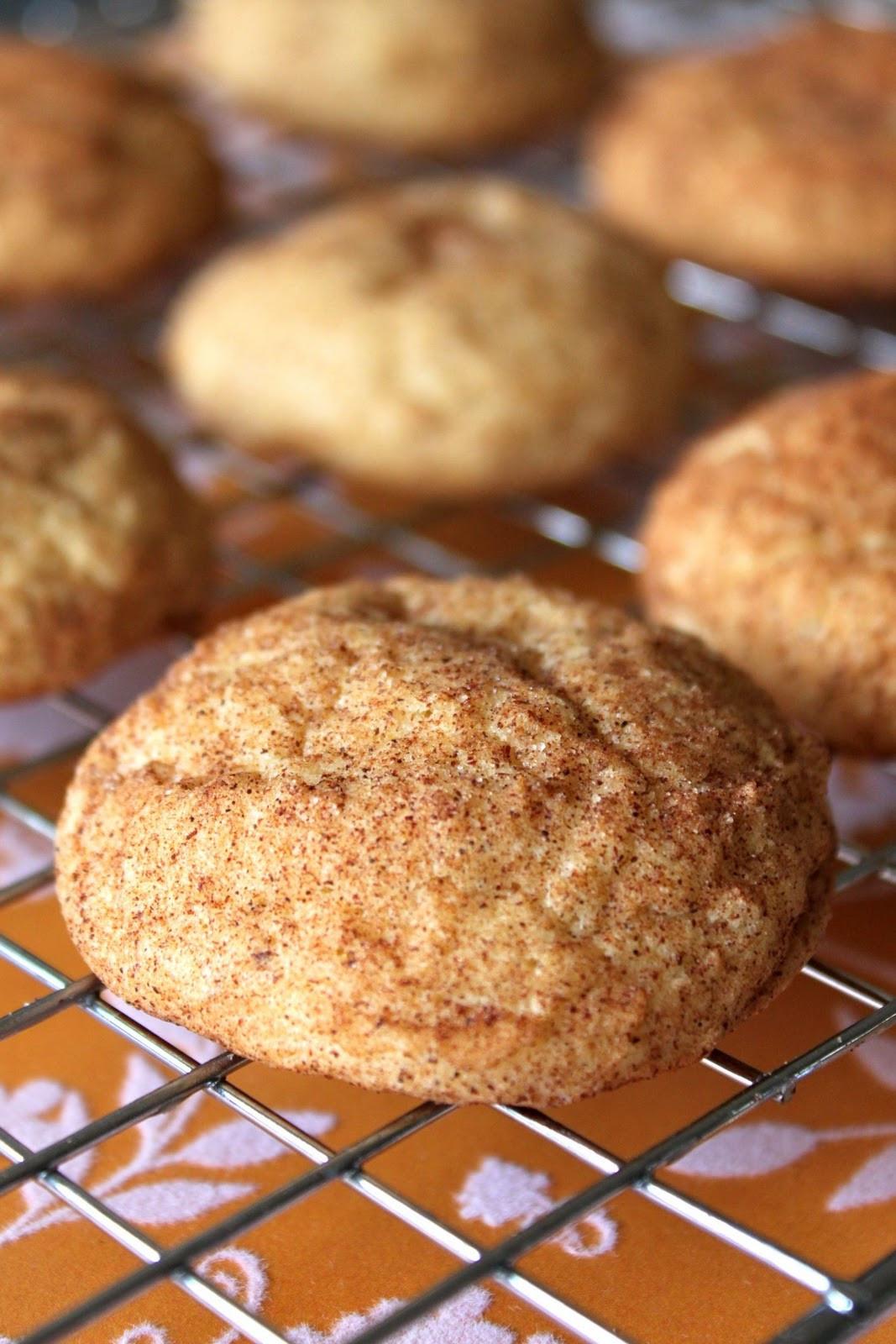Pumpkin Snickerdoodle Cookies  Baked Perfection Pumpkin Snickerdoodles and a Giveaway
