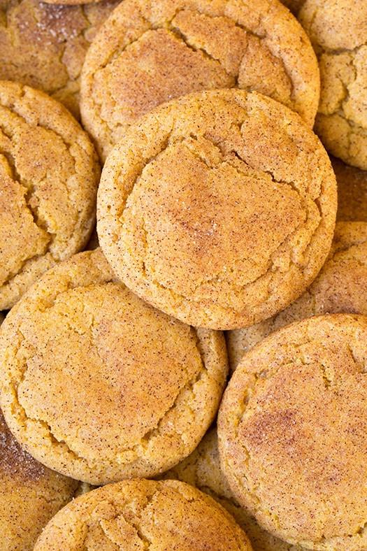 Pumpkin Snickerdoodle Cookies  Pumpkin Snickerdoodles Cooking Classy