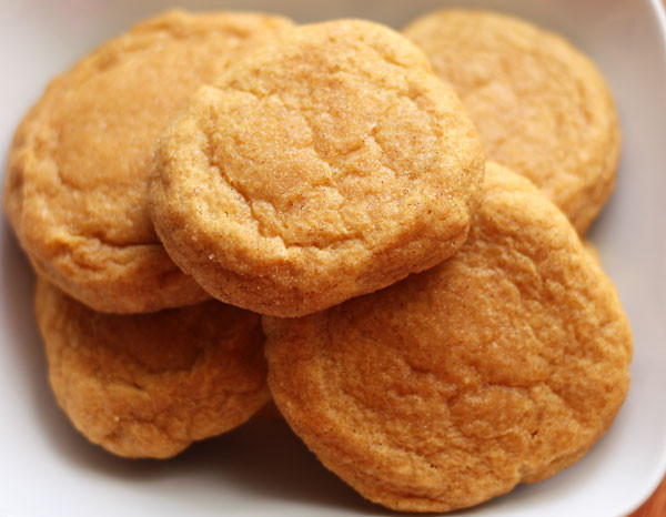 Pumpkin Snickerdoodle Cookies  pumpkin spice snickerdoodles Table for Two by Julie Wampler