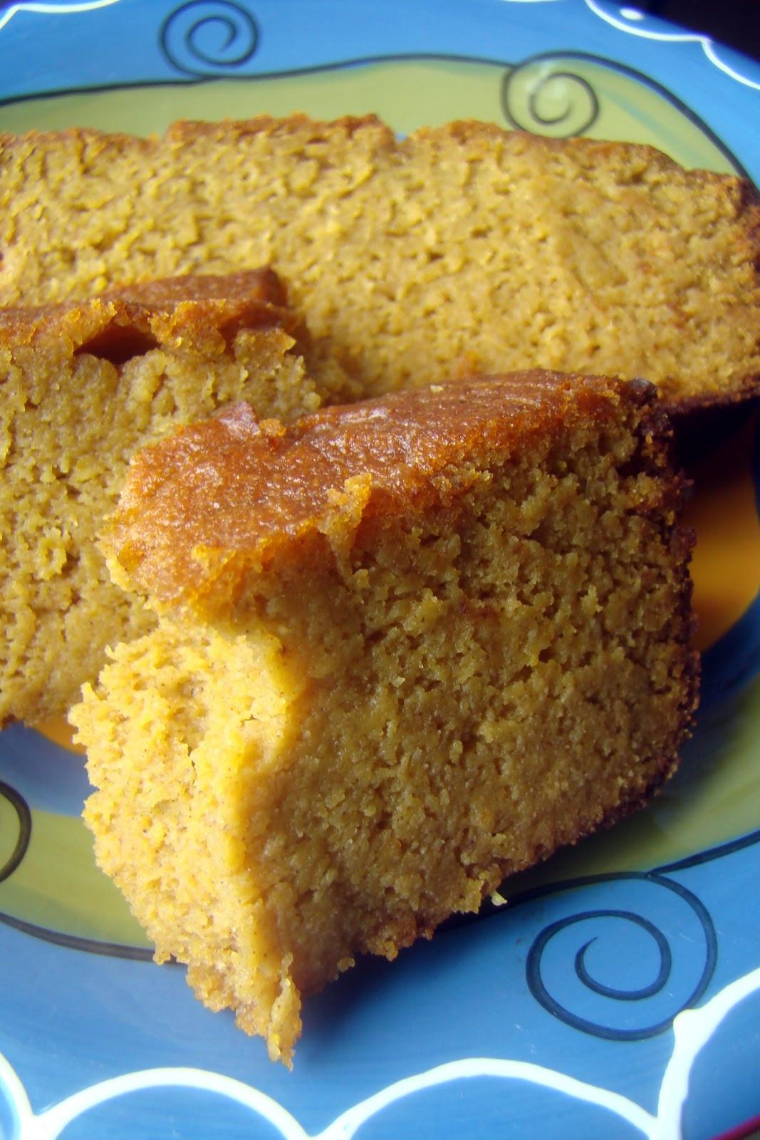 Pumpkin Spice Bread  Nourished and Nurtured Pumpkin Spice Bread GAPS legal
