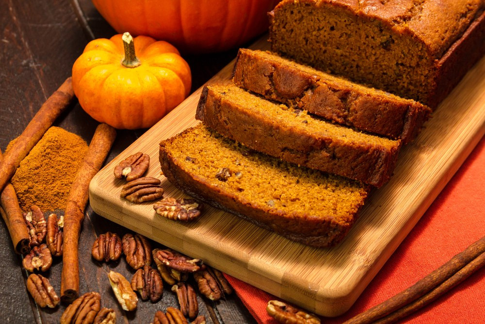 Pumpkin Spice Bread  Spiced Pumpkin Bread recipe