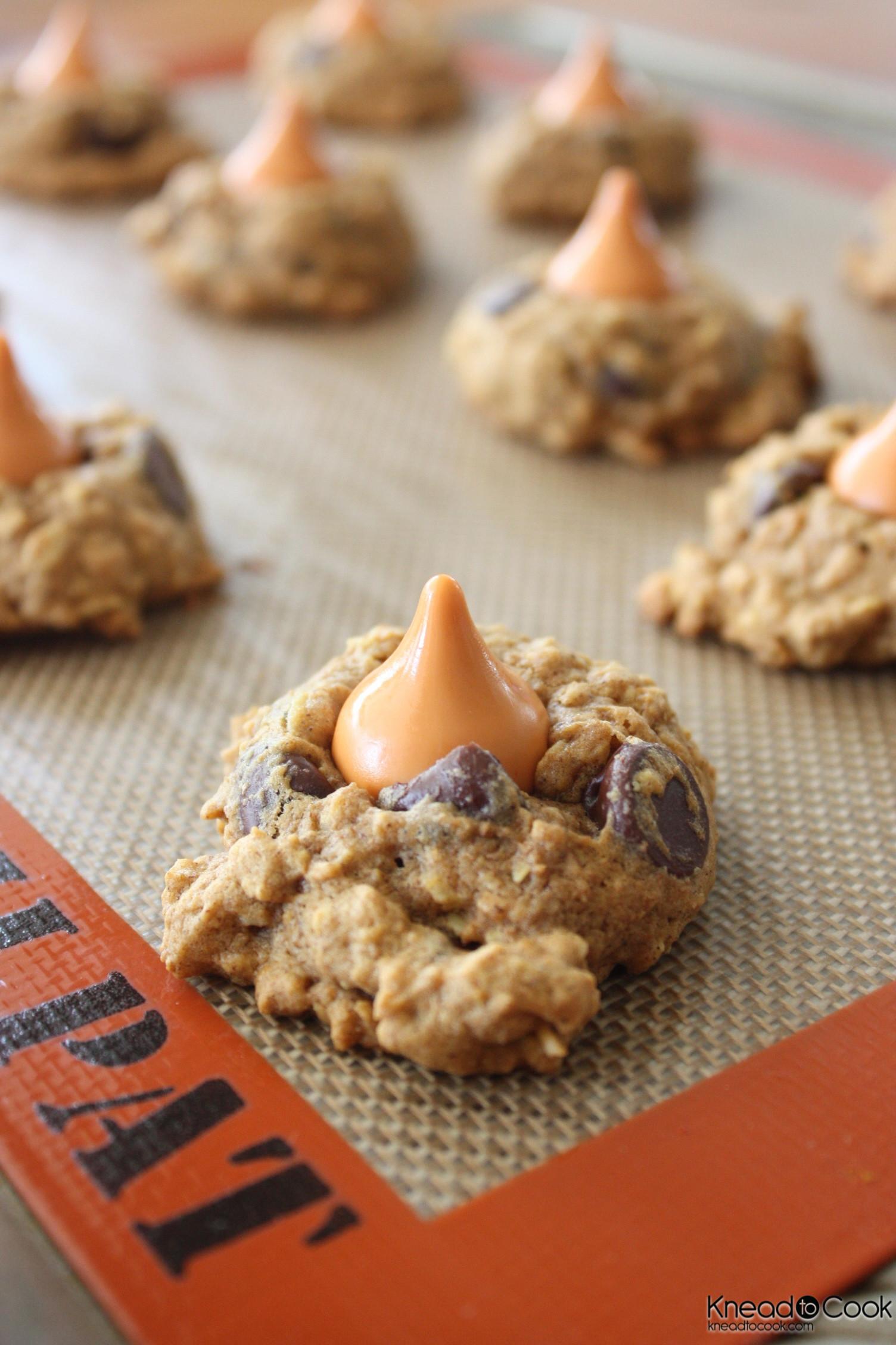 Pumpkin Spice Cookies  Pumpkin Spice Oatmeal Cookies