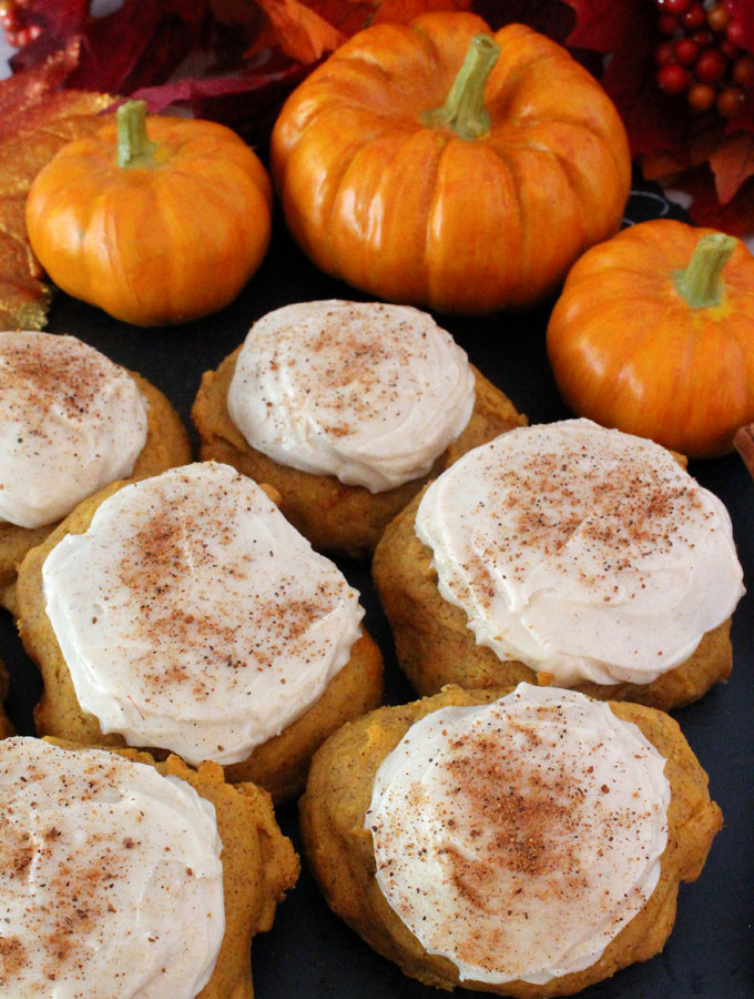 Pumpkin Spice Cookies  christmas spice cookie recipe