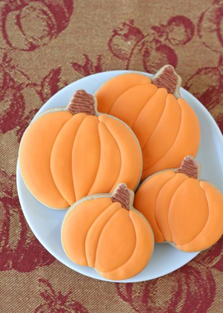 Pumpkin Spice Cookies  Pumpkin Spice Cutout Cookies – Glorious Treats