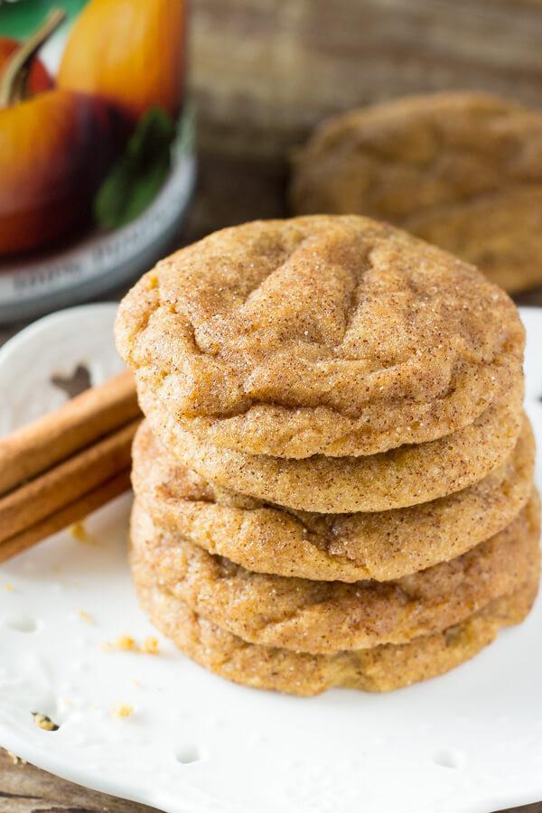 Pumpkin Spice Cookies  Pumpkin Spice Cookies Just so Tasty