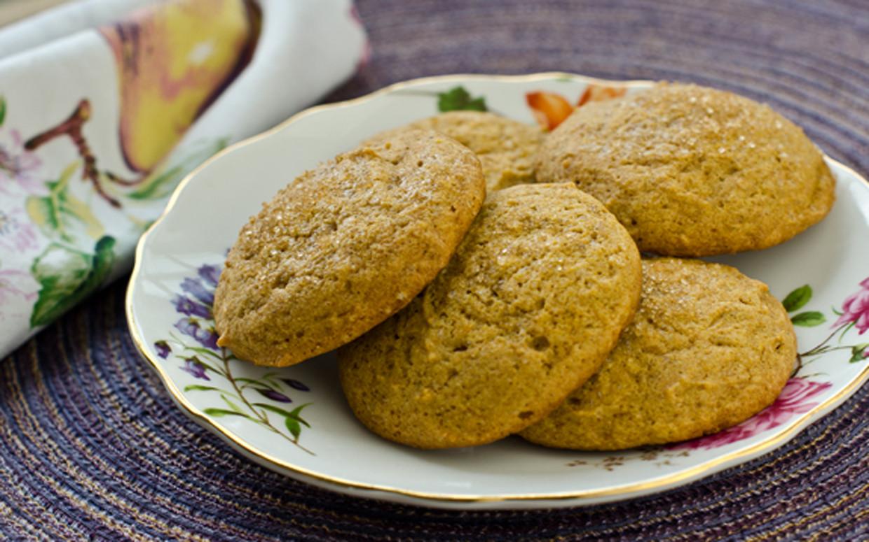 Pumpkin Spice Cookies  Spiced Pumpkin Cookies