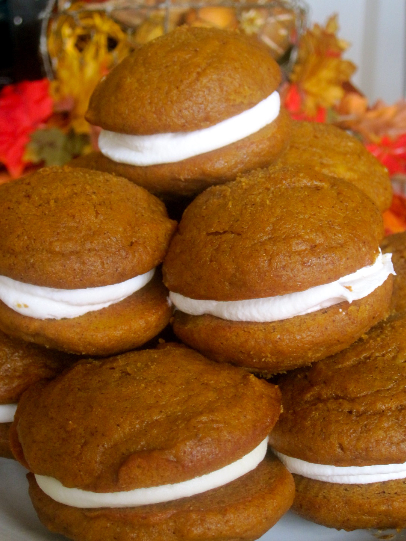 Pumpkin Whoopie Pies  The Cultural Dish Pumpkin Whoopie Pies