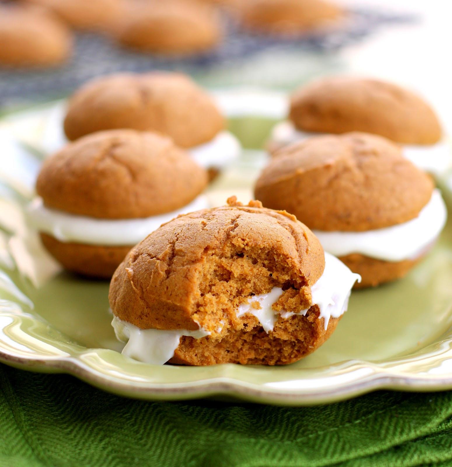 Pumpkin Whoopie Pies  Pumpkin Whoopie Pies