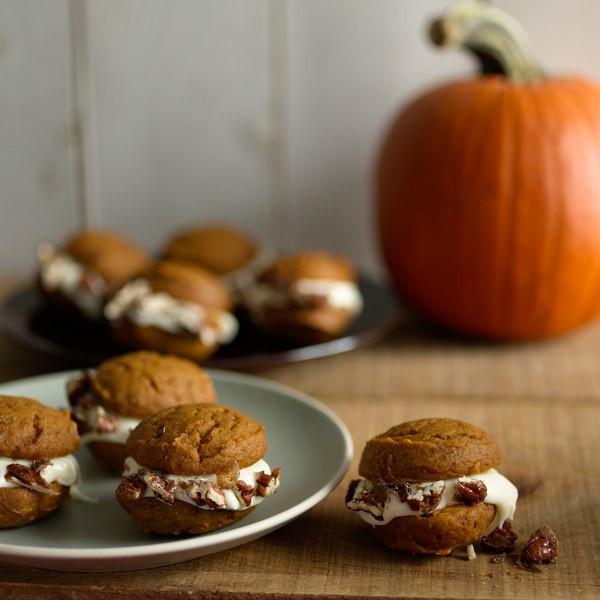 Pumpkin Whoopie Pies  Pumpkin Whoopie Pies recipe