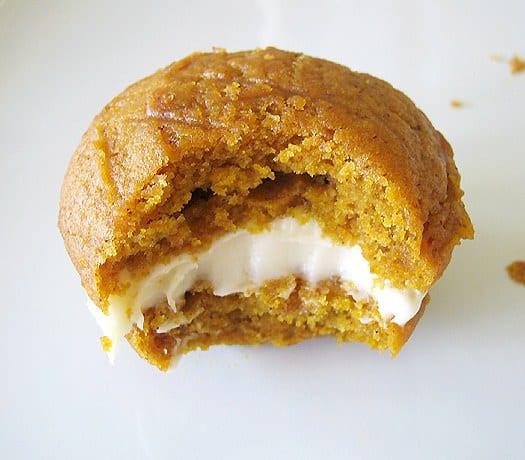 Pumpkin Whoopie Pies  Pumpkin Whoopie Pies with Maple Cream Cheese Filling