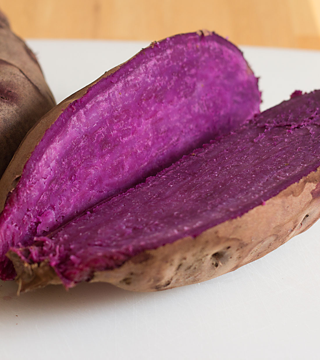 Purple Sweet Potato  Stokes Purple sweet potato pie recipe ItsYummi