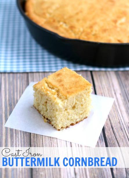 Quaker Cornbread Recipe  Quaker Yellow Cornmeal Easy Cornbread Recipe