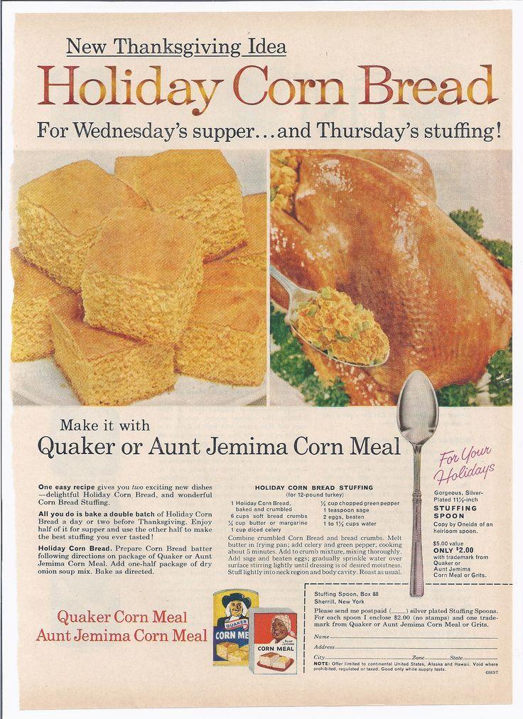 Quaker Cornbread Recipe  114 best images about Cornbread and Corn Muffin Time on