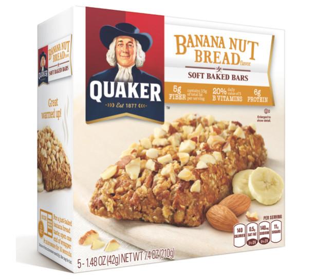 "Quaker Oats Breakfast Bars  Healthy Living Natural Beauty Product Review ""Quaker Soft"