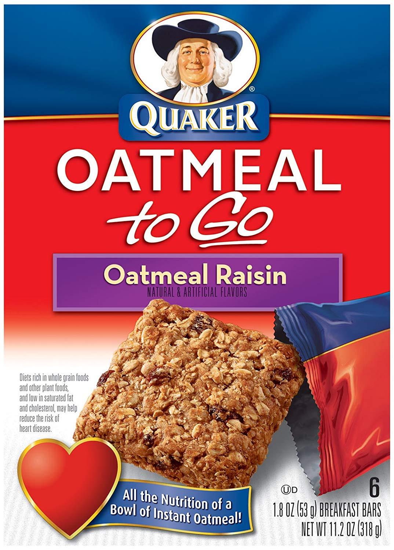 Quaker Oats Breakfast Bars  quaker oatmeal breakfast bars