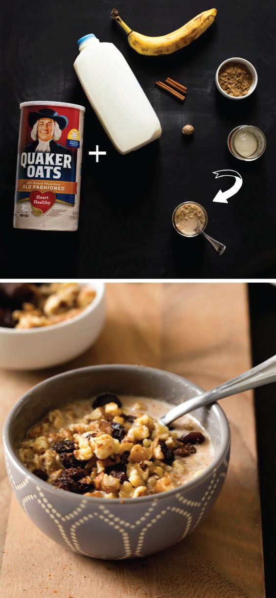 Quaker Oats Breakfast Recipes  Pinterest • The world's catalog of ideas