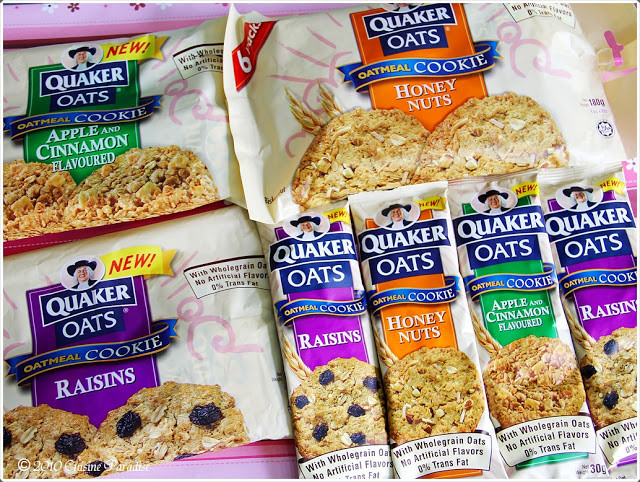 Quaker Oats Oatmeal Cookies  Cuisine Paradise
