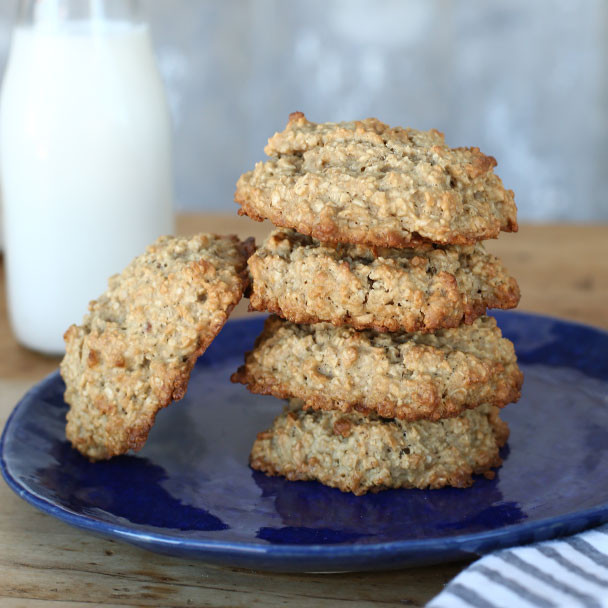 Quaker Oats Oatmeal Cookies  Chocolate Brownie Oatmeal Cookies Recipe