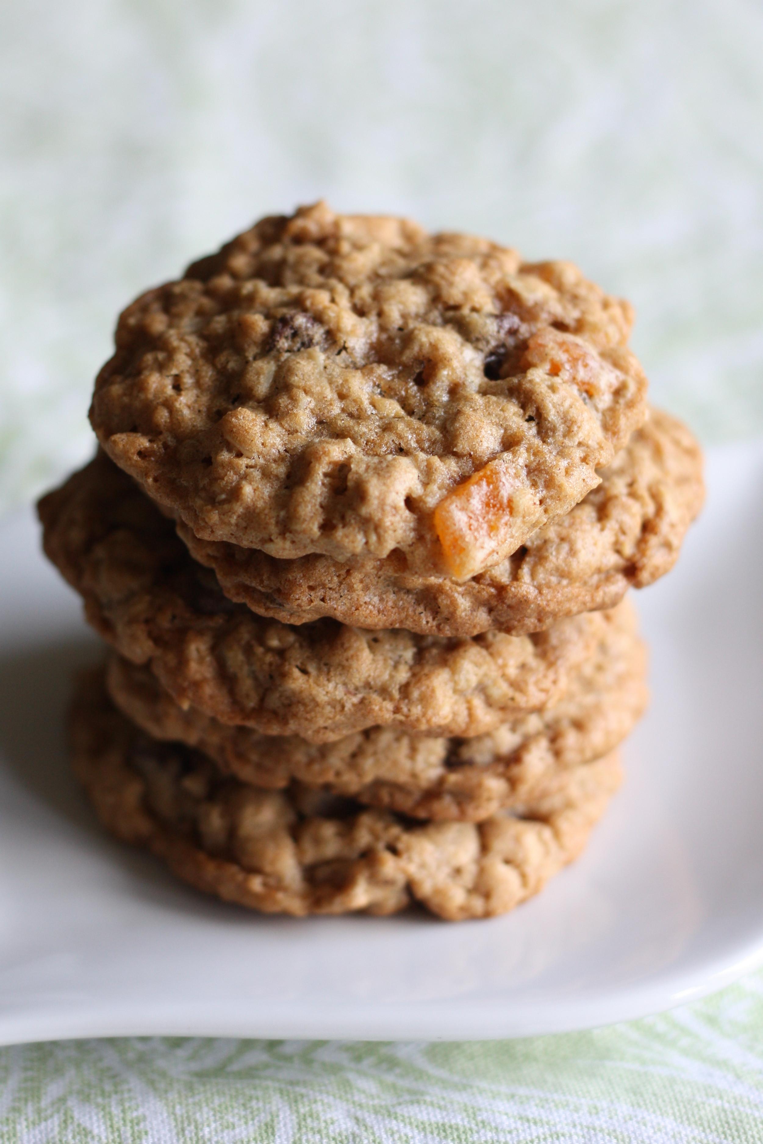 Quaker Oats Oatmeal Cookies  quaker oatmeal raisin cookies
