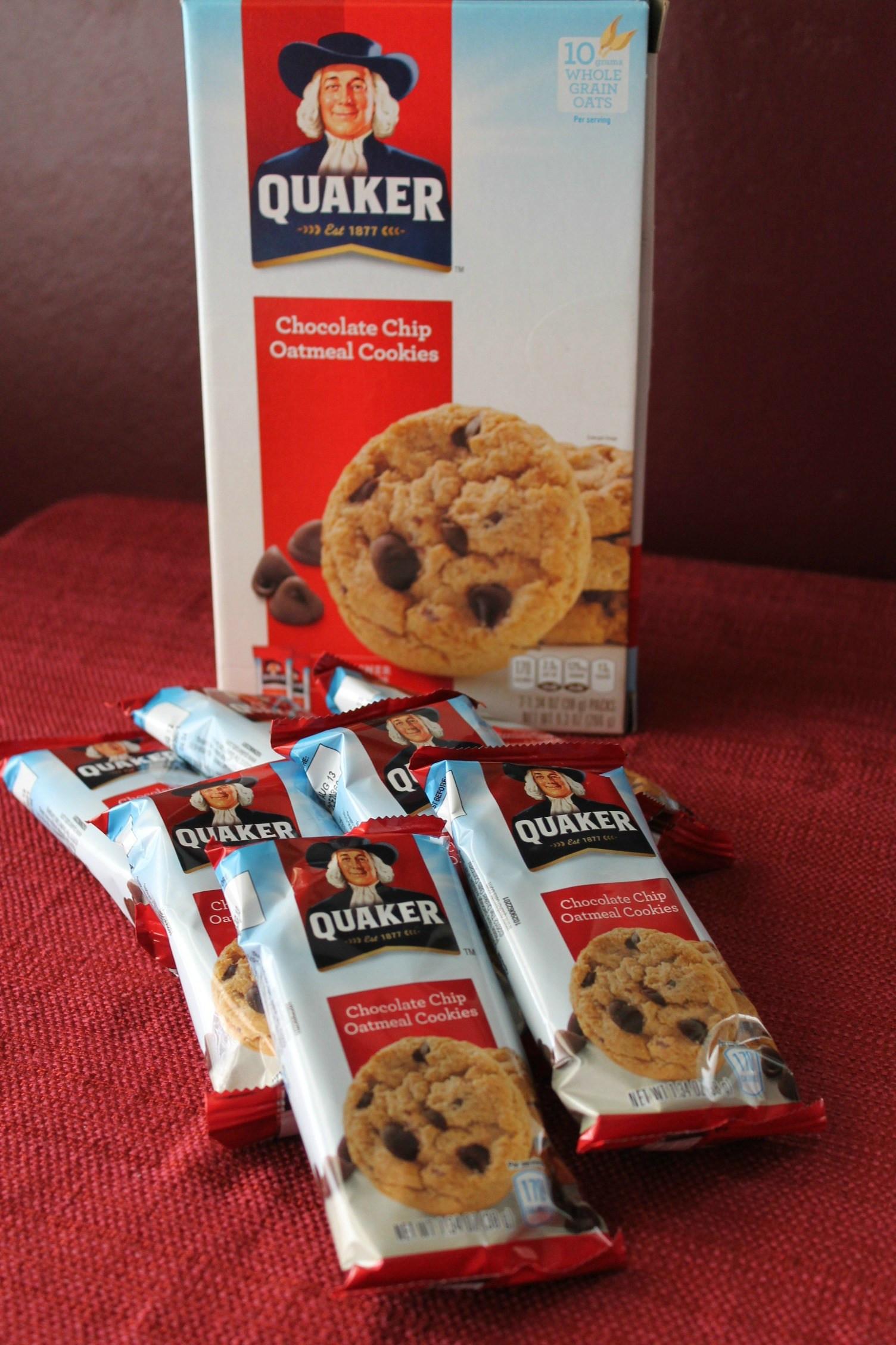 Quaker Oats Oatmeal Cookies  quaker oatmeal chocolate chip cookies