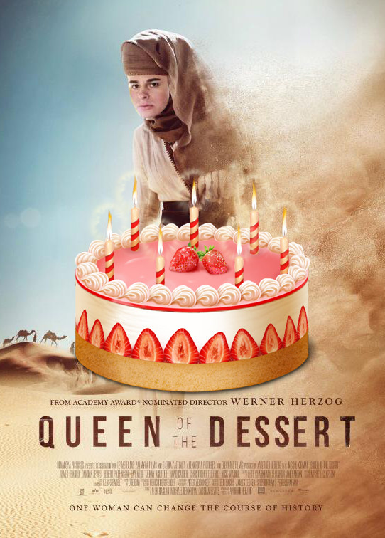 Queen Of The Dessert  Werner Herzog s Queen of the Desert Stills Poster Released