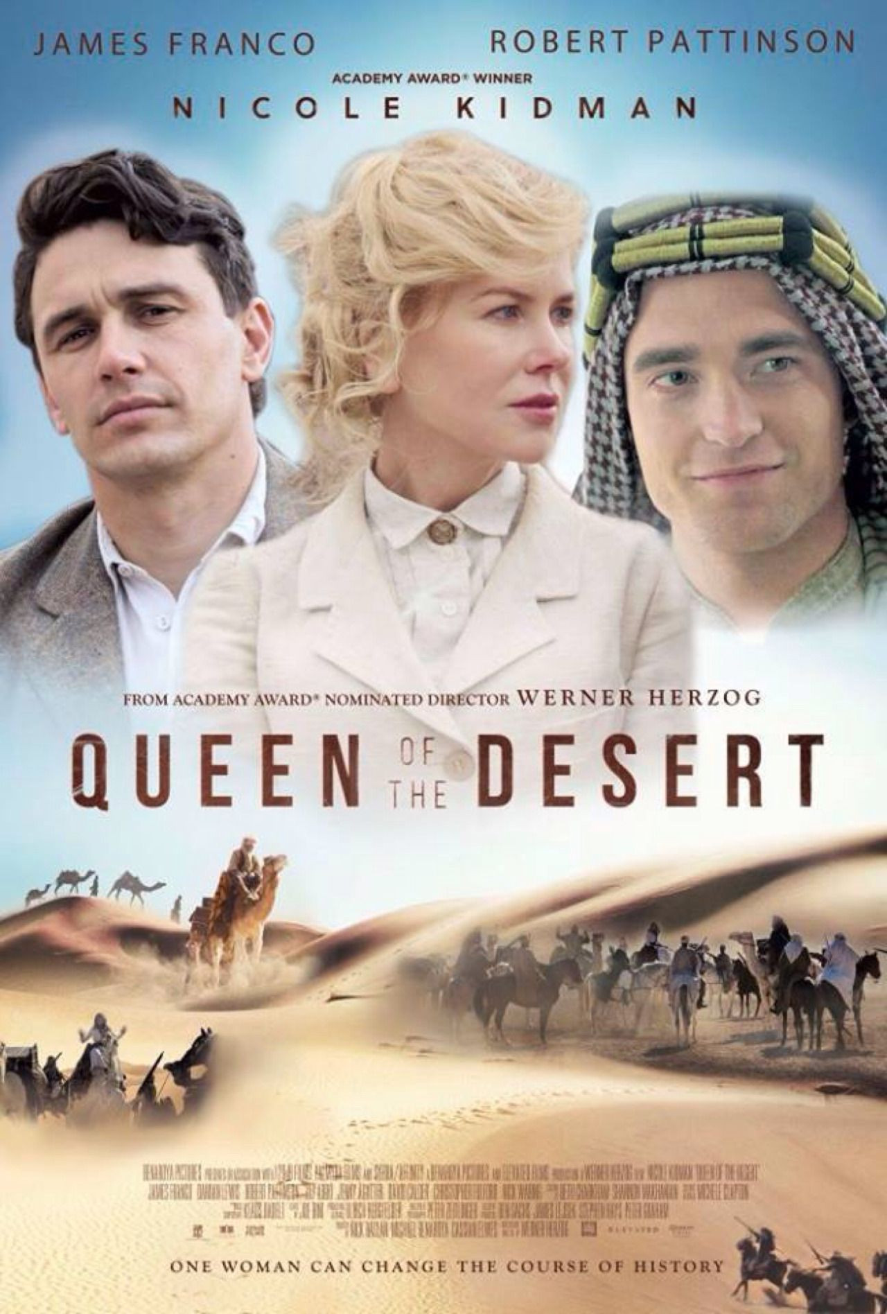 Queen Of The Dessert  Werner Herzog 2015 Queen of the Desert [Nicole Kidman