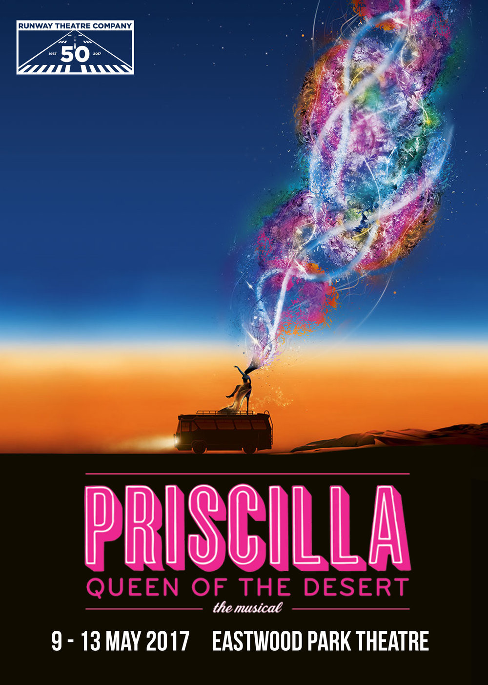 Queen Of The Dessert  Priscilla Queen of the Desert — Runway Theatre pany