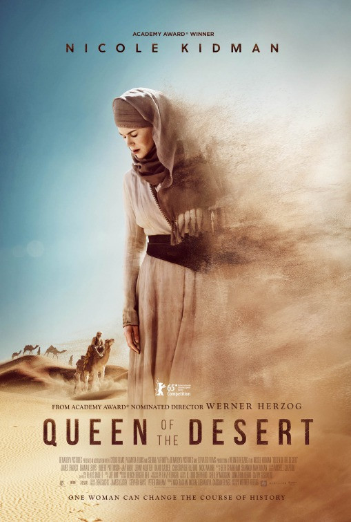 Queen Of The Dessert  Queen of the Desert Movie Poster 1 of 2 IMP Awards