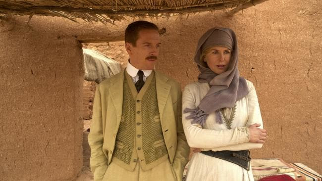 Queen Of The Dessert  reviews Queen of the Desert with Nicole Kidman Neon