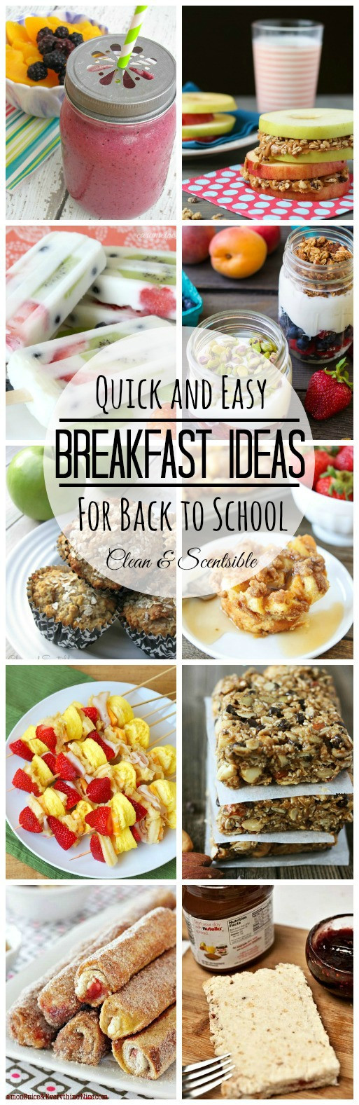 Quick And Easy Breakfast Ideas  Easy Breakfast Ideas and $200 Visa Giveaway Clean and Scentsible